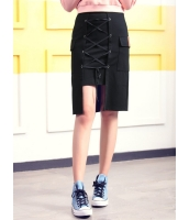 ガーベラレディース 韓国風 ファッション ひざ丈スカート mb12321-1