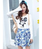 ガーベラレディース Tシャツ・カットソー 長袖  韓国風 ファッション 個性派 コーデアイテム mb12358-1