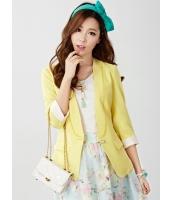 ガーベラレディース テーラードジャケット  韓国風 ファッション 着やせ レース コーデアイテム mb12360-2