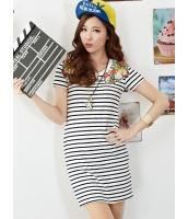 ガーベラレディース ミニワンピース 半袖 タイトワンピース  韓国風 ストリートファッション mb12403-1