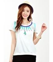 ガーベラレディース Tシャツ・カットソー 半袖  韓国風 mb12404-2