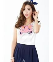 ガーベラレディース Tシャツ・カットソー 半袖  韓国風 クラシック mb12406-1