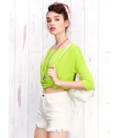 ガーベラレディース Tシャツ・カットソー 長袖  韓国風 ファッション カジュアル コーデアイテム mb12409-1
