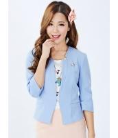 ガーベラレディース スタンドカラージャケット  韓国風 クラシック コーデアイテム ショート丈 mb12410-2