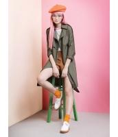 ガーベラレディース ミディアムコート  ファッション リラックス 綿質 ゆったり ウィンドブレーカー mb12434-1