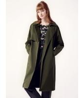 ガーベラレディース ミディアムコート  ファッション 厚手 綿質 ゆったり ウィンドブレーカー mb12448-1