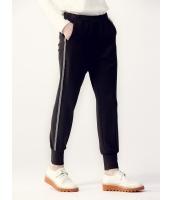 ガーベラレディース スウェットパンツ  ファッション スポーティ トレンディ ゴムウエスト ロングパンツ mb12460-1