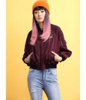 ガーベラレディース スタジャン ノーカラージャケット  ファッション ドルマン袖 ゆったり mb12464-1