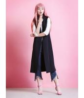 ガーベラレディース コーディガン  韓国風 ファッション ロング丈 ベスト mb12475-1