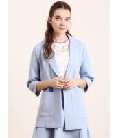 ガーベラレディース テーラードジャケット  ファッション コーデアイテム リラックス 七分丈袖 カジュアル mb12479-2