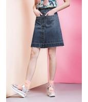 ガーベラレディース デニムスカート タイトスカート ミニスカート  ファッション Aライン裾 mb12491-1