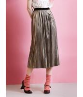 ガーベラレディース プリーツスカート ロング・マキシスカート  ファッション コーデアイテム mb12493-1
