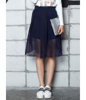 ガーベラレディース フレアスカート 膝丈スカート  韓国風 ファッション スポーティ Aライン裾 コーデアイテム mb12509-1