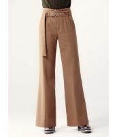ガーベラレディース ワイドパンツ ベルボトム 韓国風 レトロ ファッション おおらか 薄手ウール mb12549-2