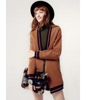ガーベラレディース フリースコート ショートコート  韓国風 ファッション 学生風 Vネック シンプル おおらか ウール mb12550-1