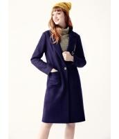 ガーベラレディース フリースコート ロングコート  韓国風 ファッション 文字入り ウール mb12559-1