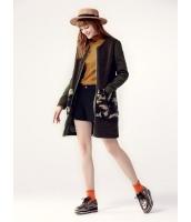 ガーベラレディース ミディアムコート  韓国風 ファッション トレンディ もこもこ 丸首 mb12569-1