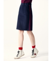 ガーベラレディース タイトスカート ペンシルスカート ミニスカート  韓国風 ファッション シンプル おおらか ウール H型 mb12583-2
