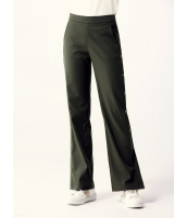 ガーベラレディース ワイドパンツ  韓国風 ファッション おおらか 薄手ウール mb12587-1