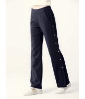 ガーベラレディース ワイドパンツ  韓国風 ファッション おおらか 薄手ウール mb12587-2