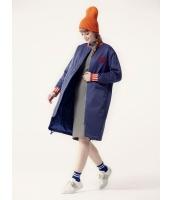 ガーベラレディース ロングコート 中綿入り 韓国風 ファッション ジップアップ mb12588-1