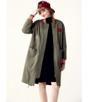 ガーベラレディース ロングコート 中綿入り 韓国風 ファッション ジップアップ mb12588-2