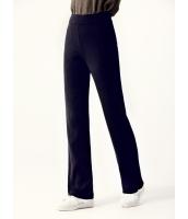 ガーベラレディース パンツ ニットウェア ファッション ゴムウエスト 厚手 柔らか ニット ハイウエスト mb12591-1