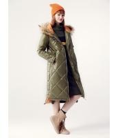 ガーベラレディース キルティングコート ロングコート 中綿入り 韓国風 ファッション ファー襟 ハイロー mb12603-1