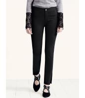 ガーベラレディース スキニーパンツ  韓国風 ファッション シンプル コーデアイテム リラックス ストレッチ性 文字入り 着やせ 九分丈 mb12608-1