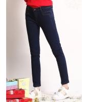 ガーベラレディース ジーンズ デニムパンツ スキニーパンツ  韓国風 ファッション コーデアイテム ライトストレッチ mb12617-1
