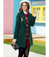 ガーベラレディース フリースコート ミディアムコート  韓国風 ファッション シンプル ファッション ウール 長袖 mb12624-1