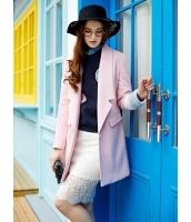ガーベラレディース ショートコート  韓国風 おおらか ファッション 着やせ 長袖 mb12629-1