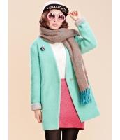 ガーベラレディース フリースコート ミディアムコート  ファッション コーデアイテム ウール mb12676-1