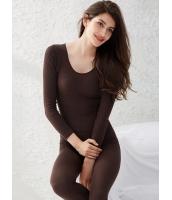 プレミアムガーベラ・レディースインナー・下着 シームレス 肌に優しい綿質 着やせ あったかい アンダーウエア上下セット mb13381-3