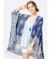 ファッション小物 ストール・ショール ゆったり エスニック 花柄 mb13708-1