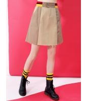 ゴアードスカート ミニスカート 欧米風 カジュアル 着やせ Aライン mb14051-1