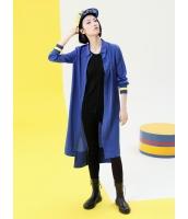 コーディガン ロングコート 欧米風 カジュアル ゆったり スタンドカラー 長袖 mb14066-1