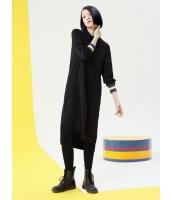 コーディガン ロングコート 欧米風 カジュアル ゆったり スタンドカラー 長袖 mb14066-2