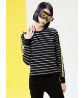 Tシャツ・カットソー 長袖 欧米風 カジュアル ストレート シンプル 丸首 mb14067-1