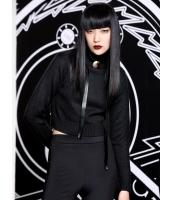 アンサンブル キャミソール+長袖セーター 2点セット 欧米風 純色 タートルネック ブラトップ mb14109-2