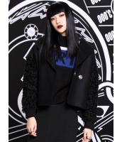 レザージャケット・革ジャン テーラードジャケット ストリートファッション パンク風 カジュアル ドロップショルダー mb14139-1