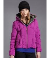 キルティングジャケット スタンドカラー 個性派 フード付き ショート丈 mb14161-1
