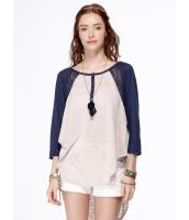 Tシャツ・カットソー 七分袖 mb14208-1