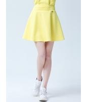ガーベラレディース フレアスカート ミニスカート シンプル コーデアイテム Aライン裾 ジップアップ mb14349-1