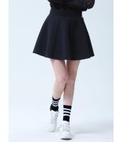 ガーベラレディース フレアスカート ミニスカート シンプル コーデアイテム Aライン裾 ジップアップ mb14349-2