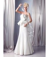 ガーベラレディース ウエディングドレス ロングドレス プリンセスライン デラックス mb14527-1