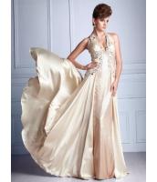 ガーベラレディース パーティドレス ロングドレス Aライン デラックス レース 大きい裾 着やせ mb14529-2