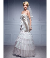 ガーベラレディース ウエディングドレス ロングドレス プリンセスライン エレガント デラックス mb14532-1