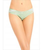 ガーベラインナー インナーショーツ ヒップハンガー ビキニショーツ 綿質 柔らか 肌に優しい ローライズ ローウエスト mb14596-3