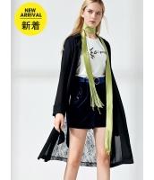ガーベラレディース ファッション小物 スカーフ コーデアイテム サテン フリンジ mb14627-2